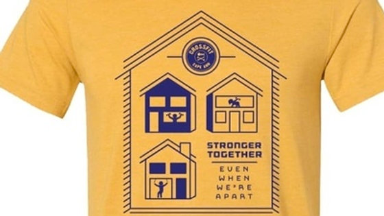 Stronger Together Social Distance Tee