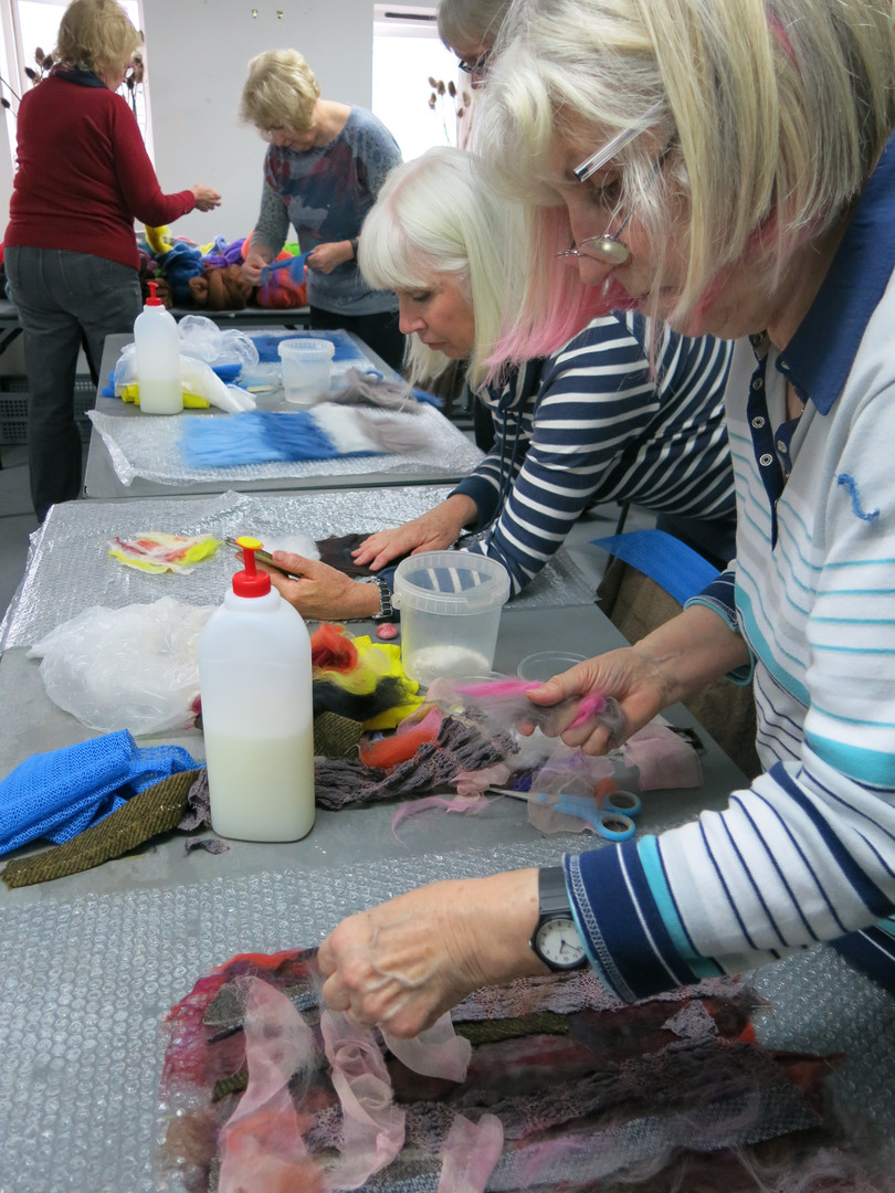 Sarah Waters Tutor -Felt Workshop