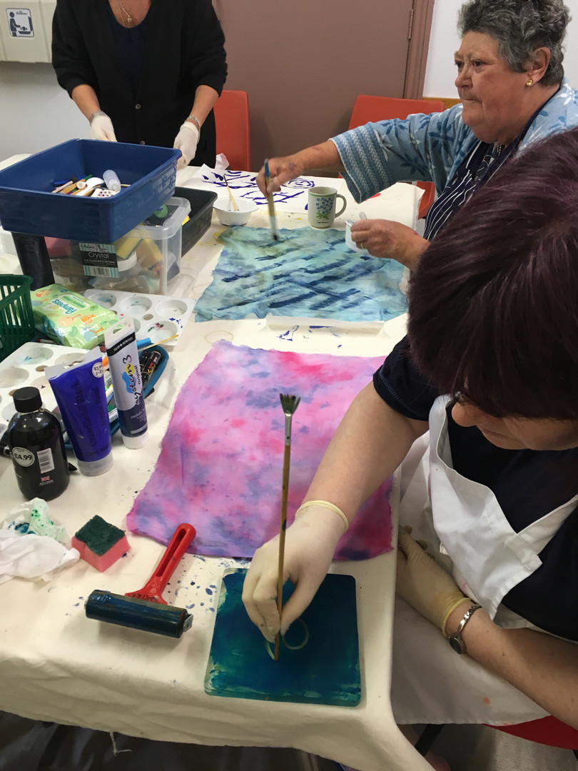 Sarah Waters Print and Felt Workshop