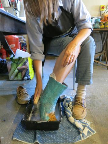 Sarah Waters Tutor - Slipper Workshop