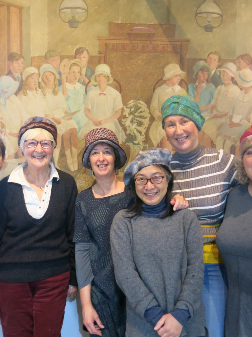 Sarah Waters Tutor - Hat Workshop