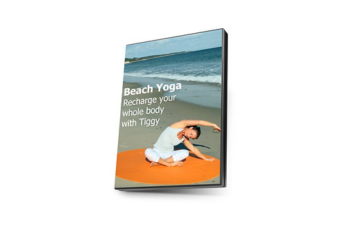 Beach Yoga Video - Take a relaxing yoga journey on the beach