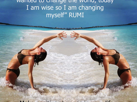 Words of inspiration from rumi.