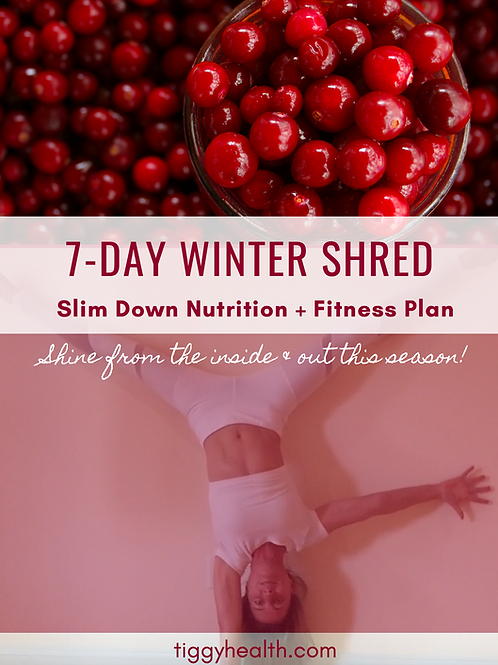 7 Day Winter Shred - Slim Down Fitness and Nutrition Program