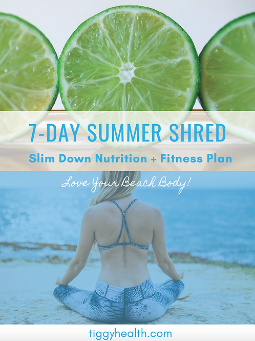 7 Day Summer Shred - Slim Down Fitness and Nutrition Program