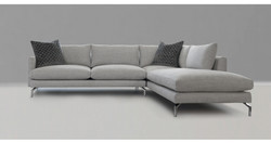 Maxwell sofa with chaise lounge