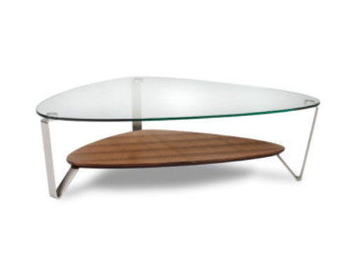 Dino 1344 Small Modern Glass Coffee Table