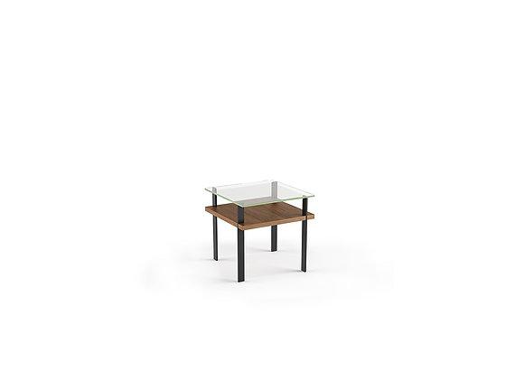 Terrace 1156 Modern Glass End Table