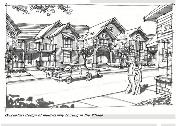 Agoura Village housing plan