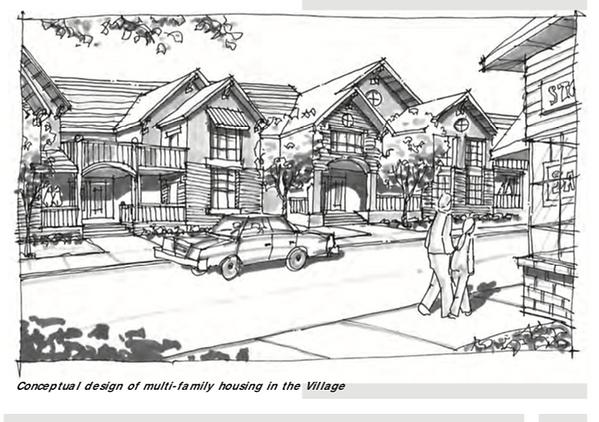 Agoura Village housing plan