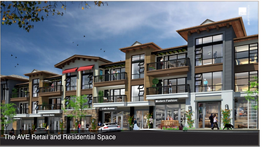 AVE retail & residential rendering