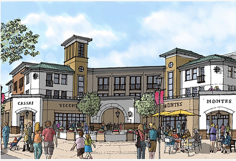 Agoura Town Center from dev's site
