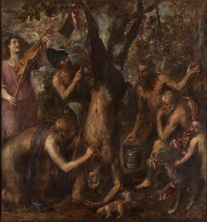 Tiziano Vecellio, Apollo and Marsyas, circa 1570