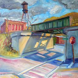 Bridge Shadows Housy 30x30