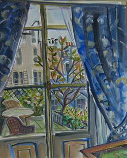 St Simon Hotel Window
