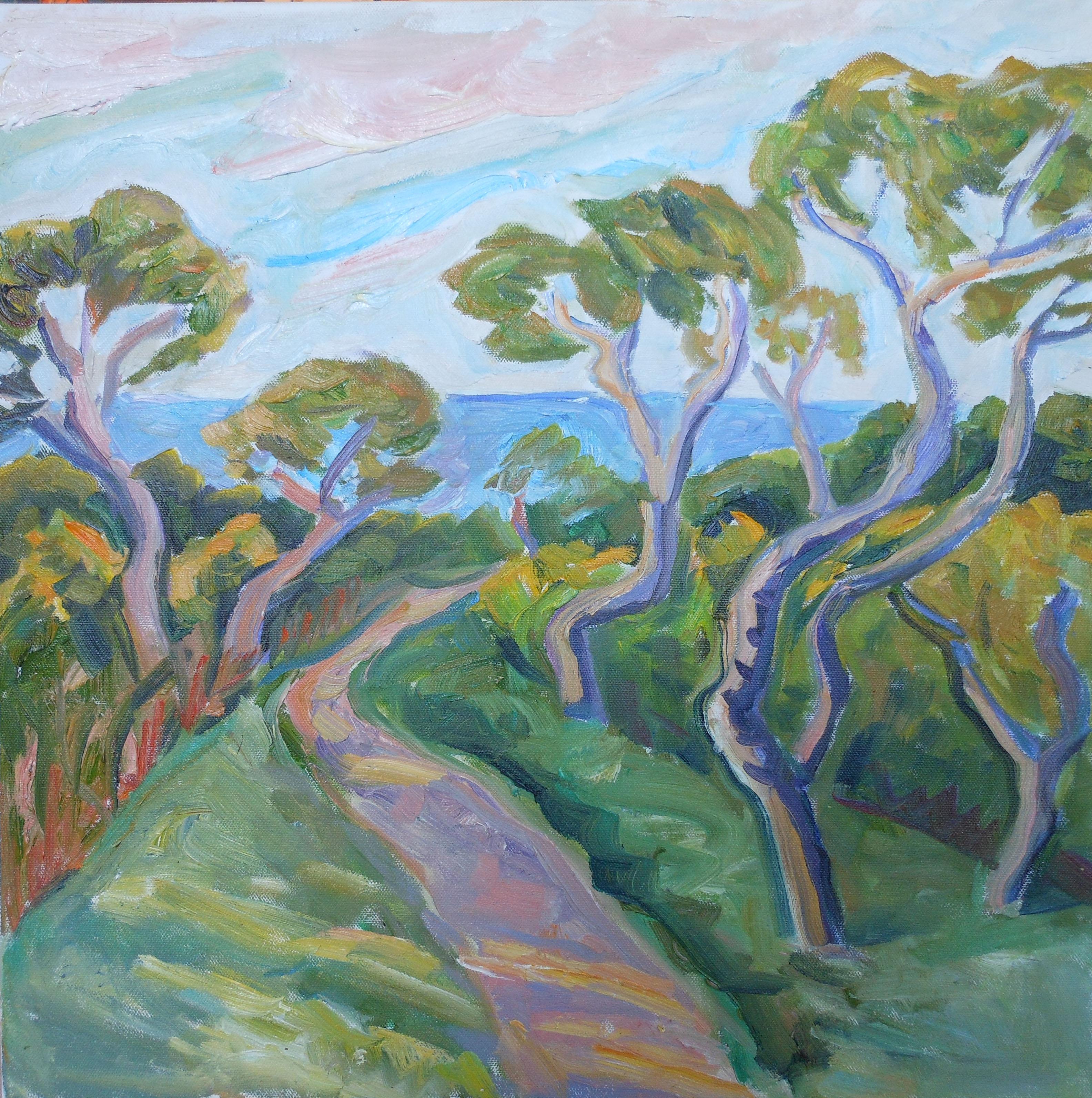 Trees at Bluffs 18x18