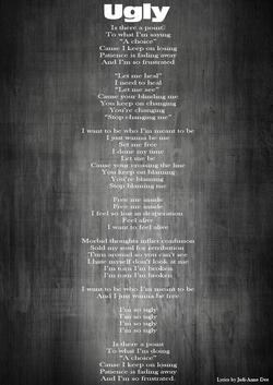 2-Lyrics-Ugly