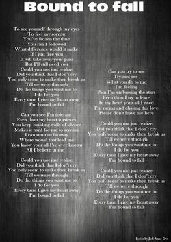 8-Lyrics-Bound to fall