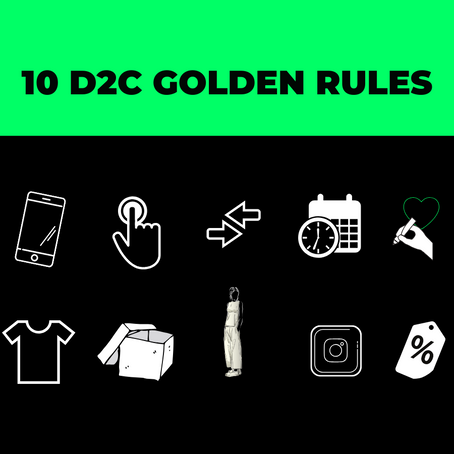 10 D2C Golden Rules