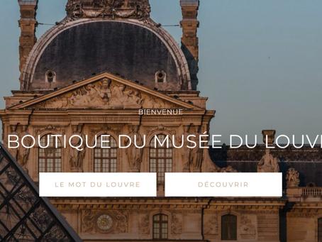 La boutique du musée du Louvre
