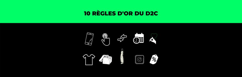 Les 10 règles d'or du D2C (direct-to-consumer)