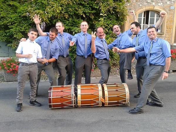 Membres des tambours Diabolo