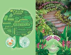 LAGC Yearbook Cover 2021-2022