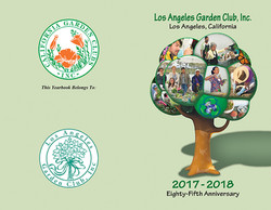 LAGC Yearbook Cover 2017-2018