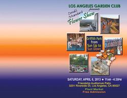 LAGC Flower Show Cover 2013
