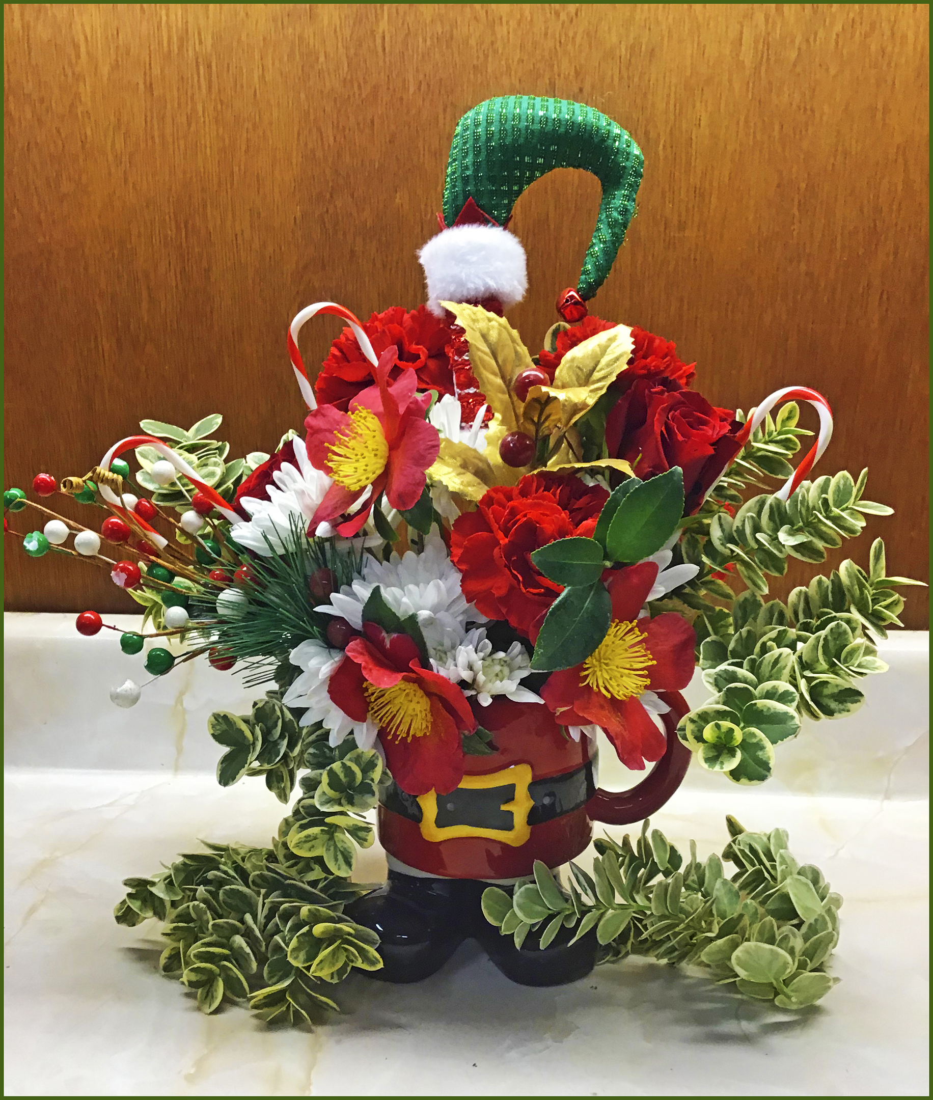 Floral Arrangement Contest - Second Prize Winner