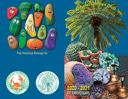 LAGC Yearbook Cover 2020-2021
