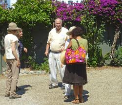 LAGC Ed + Martha Hunt Garden Tour
