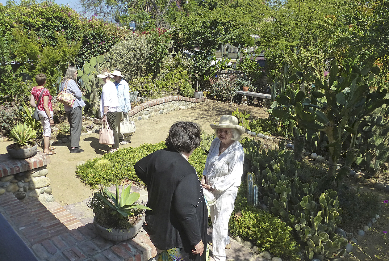 LAGC Ed + Martha Hunt Garden Tour