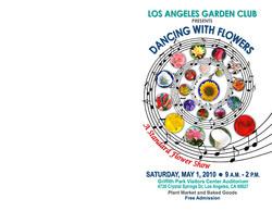 LAGC Flower Show Cover 2010