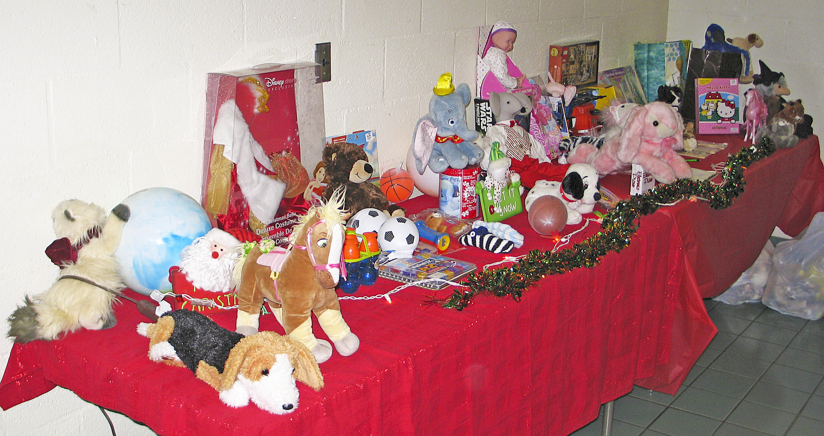 Toys for Homeless Kids