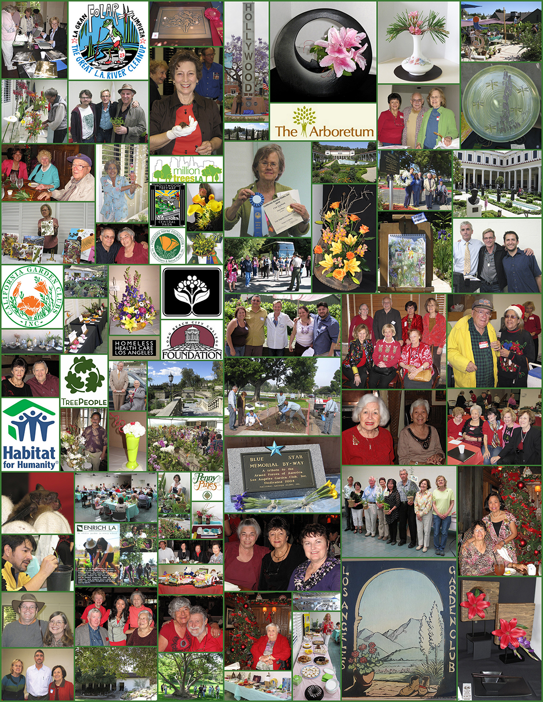LAGC Activity Collage