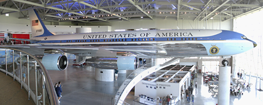 Reagan Library + Air Force One