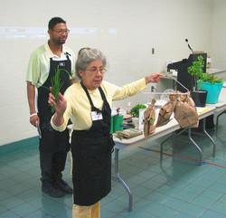 Chef Mick Brown + Karen Gallock