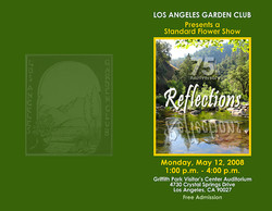 LAGC Flower Show Cover 2008