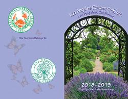 LAGC Yearbook Cover 2018-2019