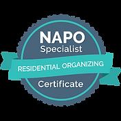 Residential Organizing Specialist Certif