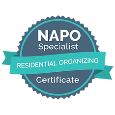 Residential Organizing Specialist Certif