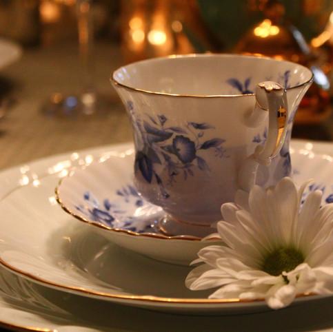 // a spot of tea //