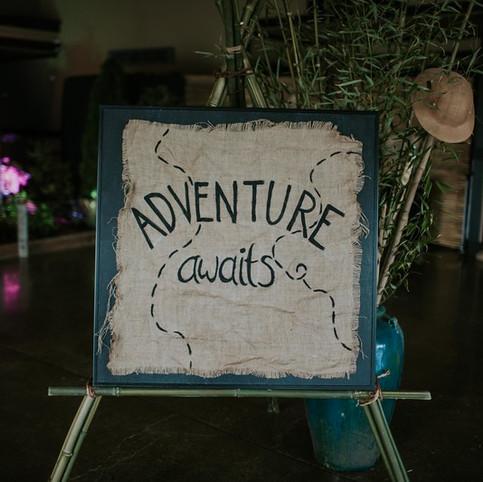 // let the adventure begin //