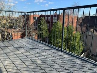 Aluminium decking, perfect for balconies..