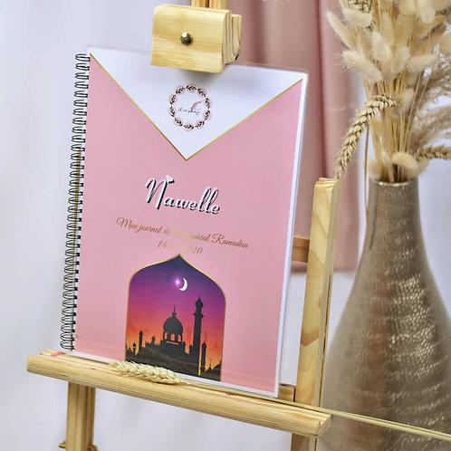 Journal de bord spécial ramadan pour enfant