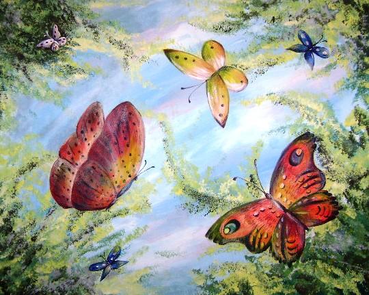 Butterflies Aflutter - 3 Hours