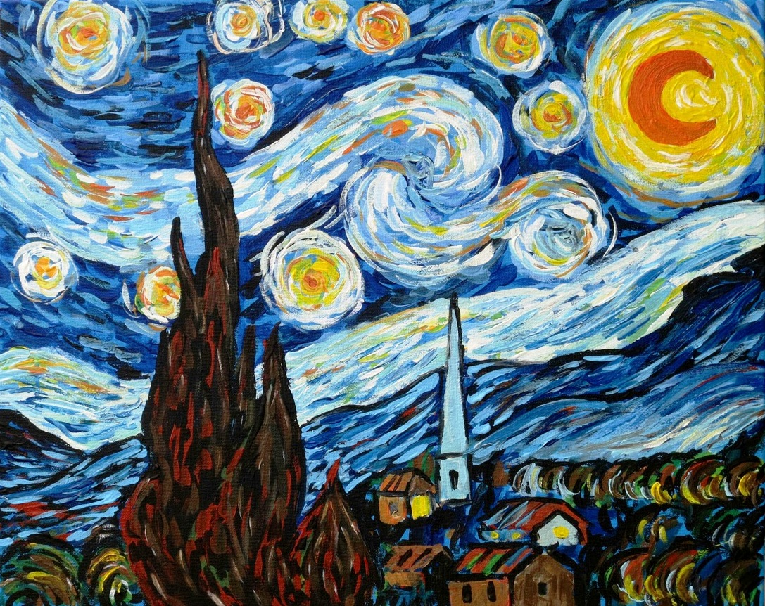 Van Gogh Starry Night - 3 Hours