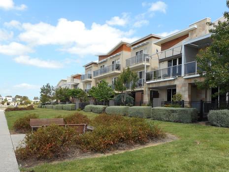 Landscape design for subdivision