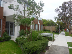 Landscape plan Frankston aparments